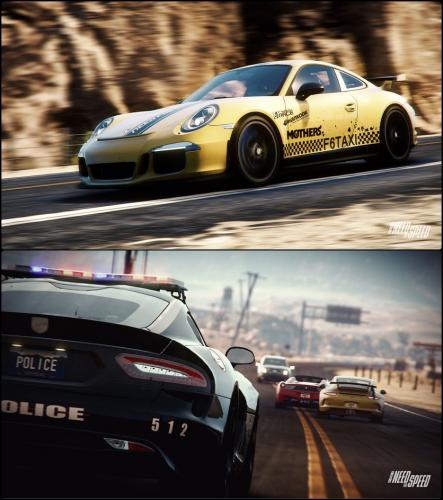 Need For Speed Rivals :