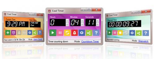 โปรแกรมนาฬิกา Cool Timer