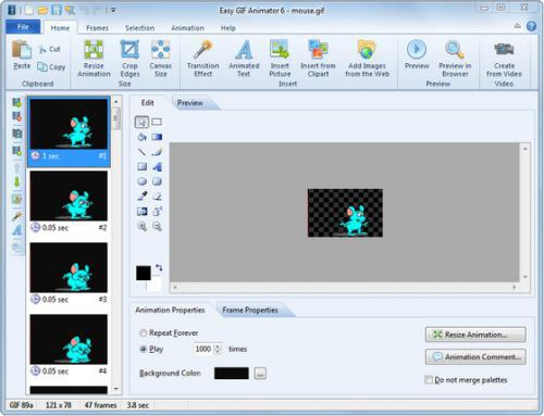 ดาวน์โหลดโปรแกรม Easy GIF Animator