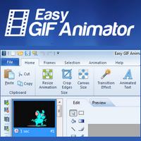Easy GIF Animator (โปรแกรมสร้างภาพเคลื่อนไหว GIF ง่ายๆ) :
