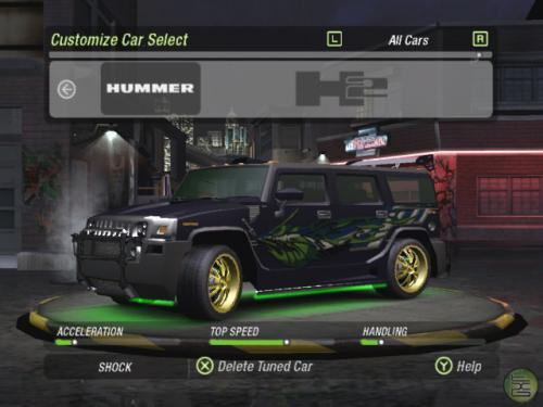 เกม Need For Speed Underground 2
