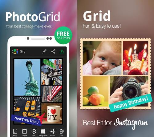 โหลดแอป Photo Grid