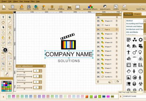 โปรแกรมแต่งรูป Quick Logo Designer