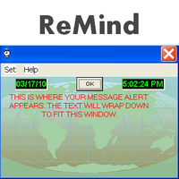 Breaktru ReMind (โปรแกรมช่วยเตือนความจำ บอกเวลา ปฏิทิน) :