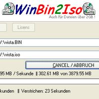 WinBin2Iso (โปรแกรมแปลงไฟล์ BIN เป็น ISO) :