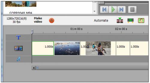 โปรแกรมตัดต่อวีดีโอ Bolide Movie Creator