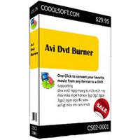 CooolSoft AVI DVD Burner