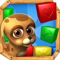 Pet Rescue Saga (App เกมเรียงบอลสี)