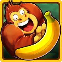 Banana Kong (App เกมส์ลิงกินกล้วย)
