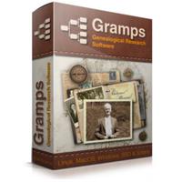Gramps Family Tree Maker (โปรแกรมสร้างแผนภูมิ ลำดับเครือญาติ วงศ์ตระกูล) :