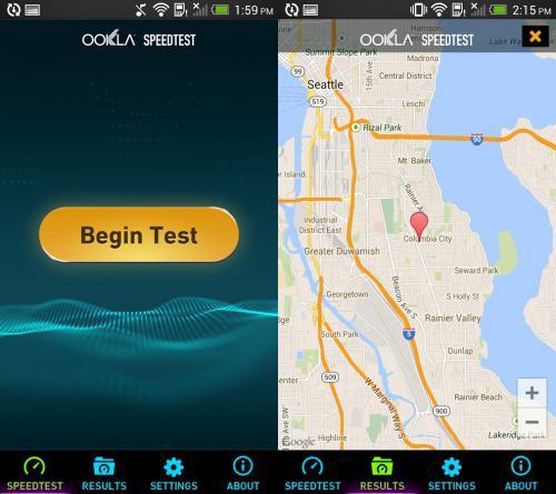 App ทดสอบความเร็วเน็ต Speedtest.net