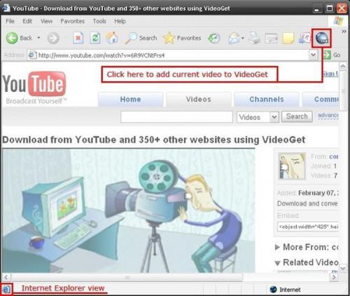 โหลดโปรแกรม VideoGet
