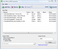 Free M4a to MP3 Converter :