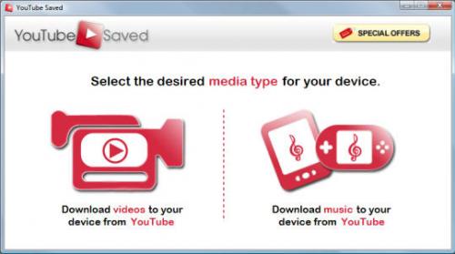 โปรแกรม YouTube Saved