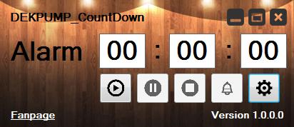 โปรแกรมนับเวลาถอยหลัง DEKPUMP CountDown