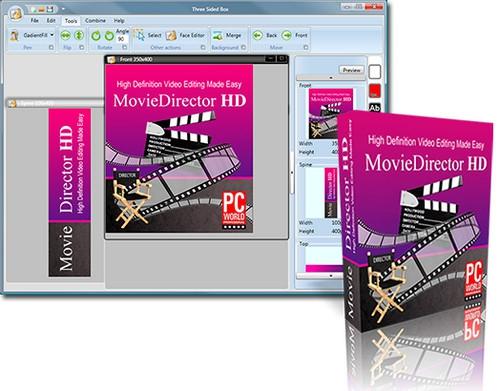 โปรแกรมทำปกหนังสือ Virtual Cover Creator