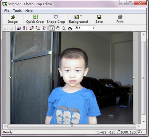 โปรแกรมแต่งรูป Photo Crop Editor