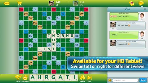 เกมส์ต่อคำ Scrabble