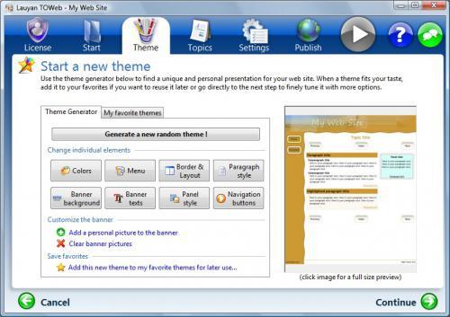 TOWeb (โปรแกรม TOWeb ออกแบบ ทำเว็บ สร้างเว็บสำเร็จรูป) :
