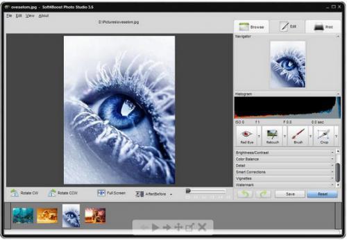 โปรแกรมแต่งรูป Soft4Boost Photo Studio