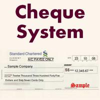 ChequeSystem (โปรแกรม ChequeSystem ทำเช็คภาษาอังกฤษ) :