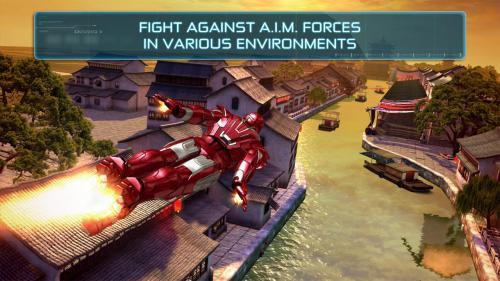 App เกมส์ Iron Man