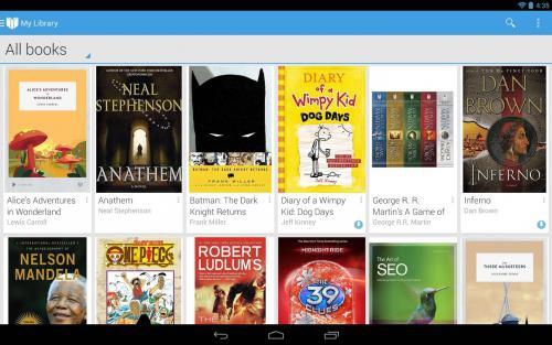 Google Play Books อ่านหนังสือ