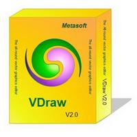 VDraw (โปรแกรมวาดแบบ วาดรูป ครบวงจร) :