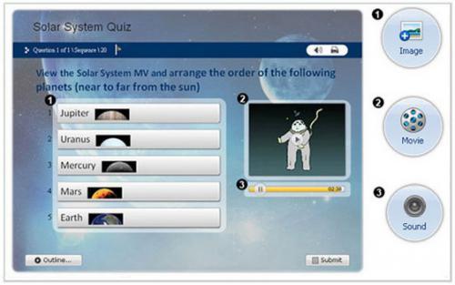 โปรแกรมสร้างแบบสอบถาม WonderShare QuizCreator
