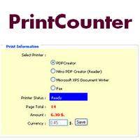 PrintCounter (โปรแกรมนับ จำนวนหน้ากระดาษ Printer)
