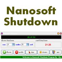 Nanosoft Shutdown (โปรแกรม ตั้งเวลาปิดเครื่อง)