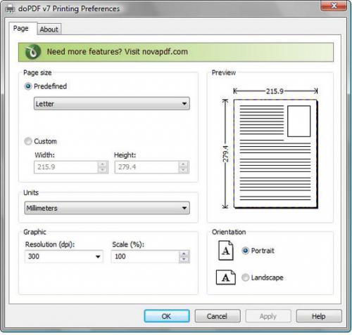 โปรแกรมแปลงไฟล์ doPDF Free PDF Converter