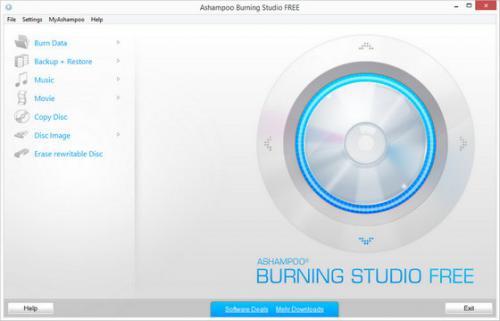 โปรแกรม Ashampoo Burning Studio Free