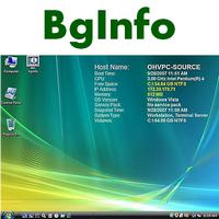 BGinfo (แสดง Spec คอมพิวเตอร์ บน Background เดสก์ท็อป) :