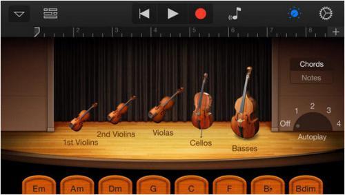 App เครื่องดนตรี GarageBand