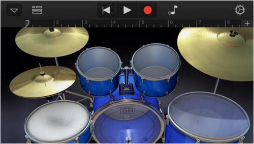 App เล่นดนตรี GarageBand