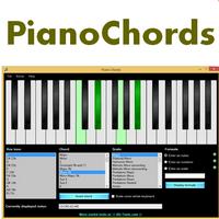 Piano Chords (โปรแกรม Piano Chords เปียโนจำลอง) :