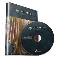 Artlantis Render (โปรแกรม Artlantis ออกแบบอาคาร อนิเมชั่น) :