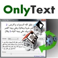 Only Text (โปรแกรมแปลงข้อความจากภาพ 7 ภาษา) :