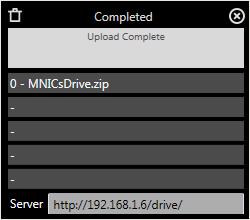 ดาวน์โหลดโปรแกรมแชร์ไฟล์ MNICs Drive