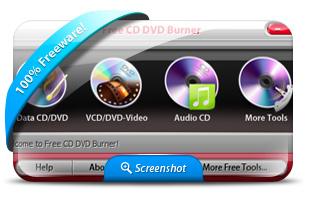 โปรแกรมเบิร์น Free CD DVD Burner
