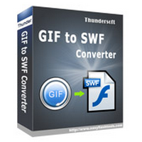 ThunderSoft GIF to SWF Converter (โปรแกรมแปลงไฟล์ GIF เป็น SWF) :