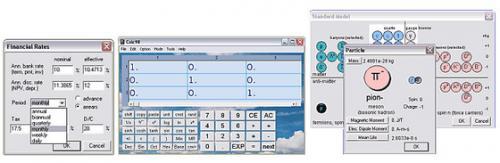 โปรแกรมเครื่องคิดเลข Calc98