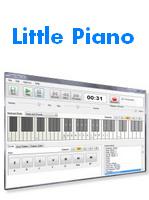 Little Piano (โปรแกรม Little Piano เล่นเปียโน บนเครื่อง PC) :