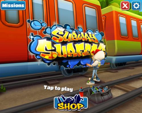 เกมส์ Subway Surfers PC