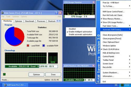 โปรแกรม RAM Saver Pro