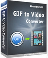 ThunderSoft GIF to Video Converter :