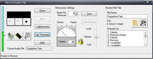 โปรแกรมแปลงไฟล์ MP3 เป็น MIDI