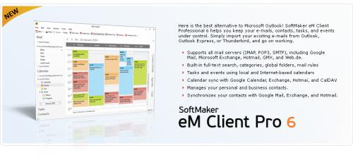 eM Client (โปรแกรม eM Client จัดการตารางงาน) :