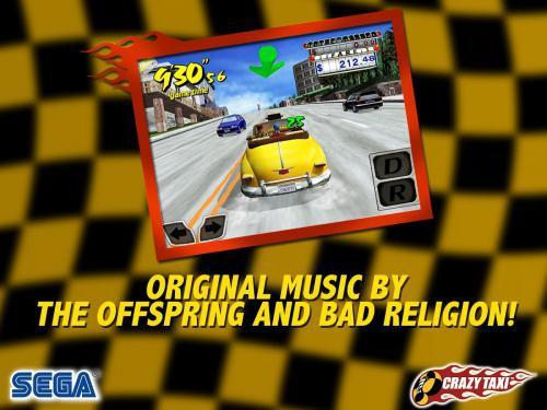โหลดเกมส์ Crazy Taxi